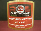 """Wrestling Mat Tape - 4"""" x 84' Roll - NEW!!! RollOutMat Tape - Strong Tape"""