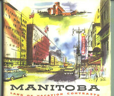 1959 Manitoba 48-page Travel Guide Book / Great Pictures / Nice Format !!