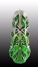 Fatto a mano intagliato candela, regalo per ogni occasione o Decorazione (con scatola originale)