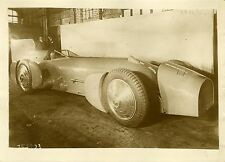 """Voiture BLUE BIRD du Major CAMPBELL 1932"" Photo originale G. DEVRED (Agce ROL)"