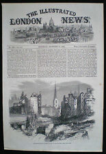 SOUTH EASTERN RAILWAY WORKS DOWGATE HILL LONDON VICTORIAN PRINT / ARTICLE 1864