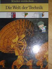 Die Welt der Technik Kinder entdecken... Kinder bibliothek