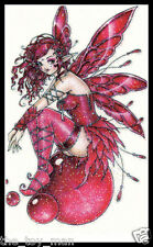 GLITTER SPARKLE SEXY HOT PINK FAIRY PIXIE GIRL BUTTERFLY WINGS TEMPORARY TATTOO