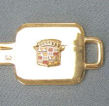 Rare Cadillac A&B Gold Cadillac Crest Limited Edition Keys Set B48A & B49B
