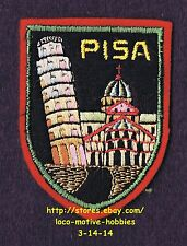 LMH PATCH Badge PISA Leaning Tower PIAZZA DUOMO Miracoli Cathedral ITALY Tuscany