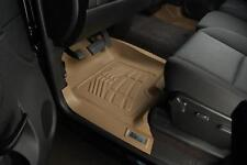 Ford F150 Super Cab 2004 - 2008 Sure-Fit Floor Mats Liners Front - Tan