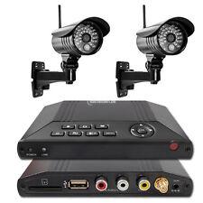 MT Vision HS 201 Funk Videoüberwachung Überwachungssystem Funküberwachung 2 Kame