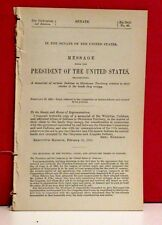 Message from the President-Claims of Certain Indians in Oklahoma Territory-1892