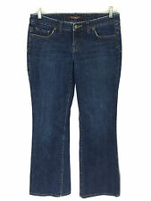 Womens The Limited Jeans Boot Cut Dark Wash Size 6S 6 Short Actual 31 x 30 31x30