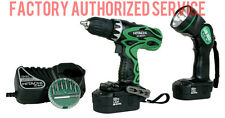 HITACHI DS18DVF3 18v Cordless Drill Kit w/ Flashlight FULL ONE YEAR WARRANTY!!!!