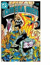Lot Of 2 Omega Men DC Comic Books # 1 36 1985 HJ6