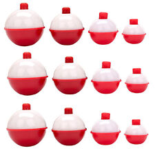 Eagle Claw 07030-001 Snap-On Round Floats Red/White Multiple Sizes Fishing