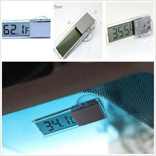 New Location Large Display LCD Digital Thermometer on Windscreen for Car head up