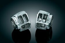 KURYAKYN CHROME SWITCH HOUSINGS FOR HARLEY MODELS 7808