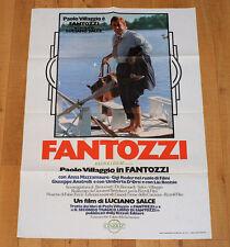 FANTOZZI poster manifesto Paolo Villaggio Anna Mazzamauro Luciano Salce 1975