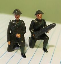 VINTAGE BRITAINS LEAD SOLDIERS KNEELING WITH ARTICULATED ARMS