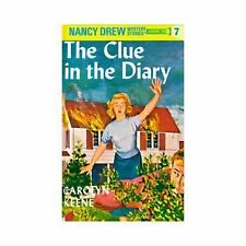 Nancy Drew The Clue in the Diary 7 by Carolyn Keene Hardcover Book