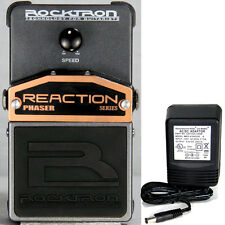 Rocktron Reaction Phaser Pedal w/ 9v power supply free shipping!