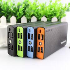 50000mAh Externer 4USB Ladegerät Smartphone Power Bank Zusatzakku Batterie Akku