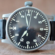 WWII GERMAN MILITARY B-UHR FL23883 WEMPE THOMMEN K31 55MM REAL BIG PILOT MANUAL