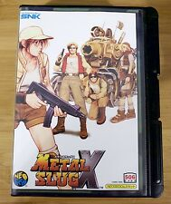 Metal Slug X for Neo Geo AES (JPN Japanese)