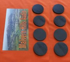 8 x Sorbothane Discs / Feet 25 mm. Diameter x 3mm.  Enhanced Sound & Isolation