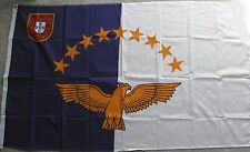 AZORES INTERNATIONAL COUNTRY POLYESTER FLAG 3 X 5 FEET