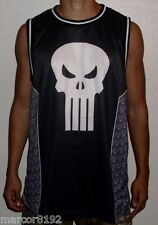 Marvel Punisher Men T-Shirt Tank Tee Basketball Jersey Size Medium New W/ Tag