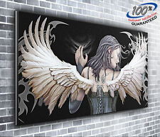 Gothic Angel Stunning Panoramic Canvas Print XXL 4 foot wide x 1.5 foot high