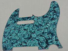 D'ANDREA PRO TELECASTER PICKGUARD 8 HOLE AQUA PEARL MADE IN THE USA