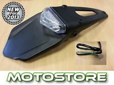 UNIVERSAL MOTORCYCLE MOTORBIKE ENDURO XC TRIALS REAR BRAKE TAIL LIGHT LED TRAIL