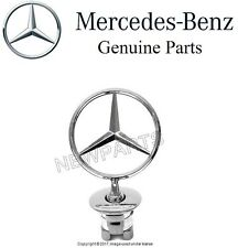 GENUINE front Hood Star Emblem Chrome Sign Symbol Badge ORIGINAL for Mercedes