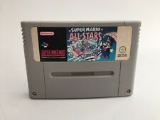 SUPER MARIO ALL STARS Super Nintendo Snes PAL Cartridge Only