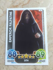 STAR WARS Force Awakens - Force Attax Trading Card #035 Emperor Palpatine