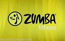 "ZUMBA BANNER Sign,Picture,Horizontal Vinyl Easy Hang Boss Extra large 30"" x 47"""