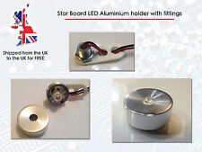 High Power LED Bead Mount Star Base holder bulk head aluminium case lens fitting