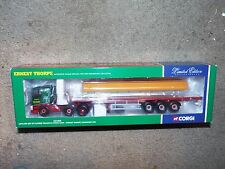 CORGI LTD EDT CC11805 ERNEST THORPE Leyland DAF 85 flat bed + load 1:50