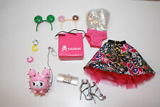 Barbie Collector 10th Anniversary TOKIDOKI Outfit and Accessories Ensemble