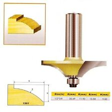 "Thumbnail Table Edge Router Bit small bead- 1/2*3/8 - 1/2"" Shank -"