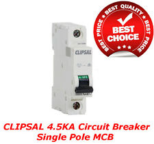 Clipsal 4.5Ka 63A Circuit Breaker Single Pole MCB Switchboard Distribution Board