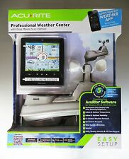 Acu Rite 5 in 1 Color Weather Station W/PC Connect NEW