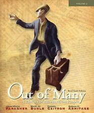 Out of Many Vol. 2 : A History of the American People by Susan H. Armitage,...