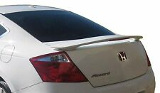 PAINTED REAR WING SPOILER FOR A HONDA ACCORD 2-DOOR FACTORY 2008-2012