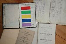 papier ancien memento manuel agents nouveaux horaire chemins de fer PLM 1925