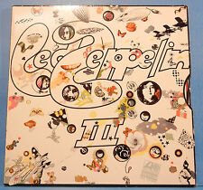 LED ZEPPELIN III SD 19128 VINYL LP 1970 RE '76 WHEEL GREAT COND! VG+/VG++!!B