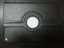 iPad Air 1 Black Case Cover PU-Leather 360 Rotating Cases