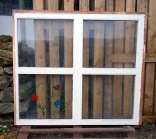 großes Oberlicht-Fenster, Badfenster, Raumteiler, Lichtband  123x140 cm F-GC 02