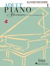 ADULT PIANO ALL-IN-ONE LESSON BOOK SOLOS TECHNIQUE THEORY BOOK 1 (2009)
