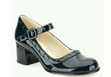 BNIB CLARKS ORLA KIELY MARY JANE DOROTHY SHOES SIZE UK 4.5, US 7, EU 37.5 NAVY