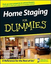 Home Staging for Dummies by Dummies Press Staff, Christine Rae and Jan...